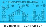 bolivia  santa cruz de la...   Shutterstock .eps vector #1244728687