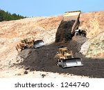 reclamation at the landusky... | Shutterstock . vector #1244740