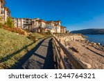 luxury house in vancouver ... | Shutterstock . vector #1244764321