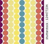eps10 file. seamless retro... | Shutterstock .eps vector #124477234
