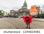 buenos aires  argentina  ... | Shutterstock . vector #1244824081