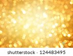 gold abstract background with... | Shutterstock . vector #124483495