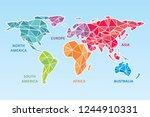global network mesh. social...   Shutterstock .eps vector #1244910331