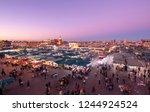 marrakech  morocco   22...   Shutterstock . vector #1244924524
