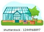 vector illustration of... | Shutterstock .eps vector #1244968897