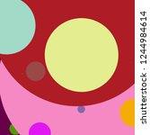 circle geometric beautiful...   Shutterstock . vector #1244984614