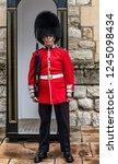 august 10  2018  uk  london ... | Shutterstock . vector #1245098434