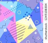 vector seamless pattern in...   Shutterstock .eps vector #1245108304