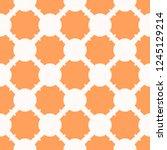 vector geometric seamless...   Shutterstock .eps vector #1245129214