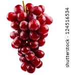A Cluster Of Red Grapes...