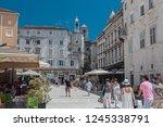 split  croatia juni 05  2018 ... | Shutterstock . vector #1245338791