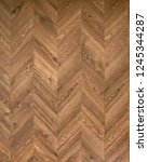 herringbone seamless wood... | Shutterstock . vector #1245344287