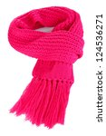Warm Knitted Scarf Pink...