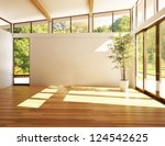 empty room of business  or... | Shutterstock . vector #124542625