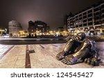 leon  spain   january 09 ...   Shutterstock . vector #124545427