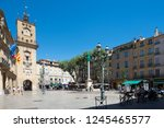aix en provence france   august ... | Shutterstock . vector #1245465577