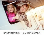 married middle aged couple... | Shutterstock . vector #1245492964