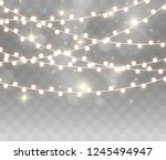 christmas bright  beautiful... | Shutterstock .eps vector #1245494947