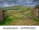great shunner fell is the third ... | Shutterstock . vector #1245551821