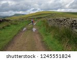 great shunner fell is the third ... | Shutterstock . vector #1245551824