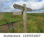great shunner fell is the third ... | Shutterstock . vector #1245551827