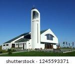 Exterior Of A Modern Parish...