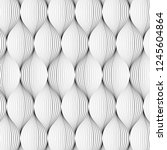 vector pattern. abstract... | Shutterstock .eps vector #1245604864