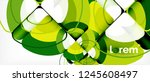 circle abstract background.... | Shutterstock .eps vector #1245608497