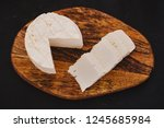 queso panela cheese  mexican... | Shutterstock . vector #1245685984
