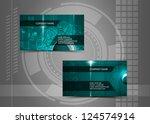 vector abstract creative... | Shutterstock .eps vector #124574914