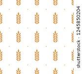 vector seamless pattern...   Shutterstock .eps vector #1245850204
