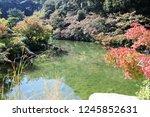 a samurai residence thas's... | Shutterstock . vector #1245852631
