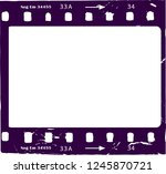 photographic film  film... | Shutterstock .eps vector #1245870721