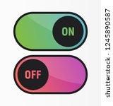bright neon gradient color on...