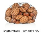 different kind of nuts close up ...   Shutterstock . vector #1245891727