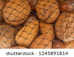 different kind of nuts close up ...   Shutterstock . vector #1245891814