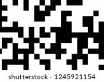 digital background of white and ... | Shutterstock . vector #1245921154