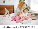 holidays with children. useful...   Shutterstock . vector #1245926191