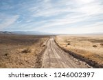 A Lonely Dirt Road In Utah S...