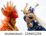 venice   march 05  participants ... | Shutterstock . vector #124601254