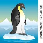 vector. penguin illustration. | Shutterstock .eps vector #124601431