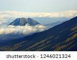 hillside of merbabu mountain at ...   Shutterstock . vector #1246021324