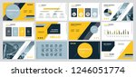 this template is the best as a... | Shutterstock .eps vector #1246051774