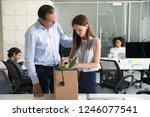colleague businessman...   Shutterstock . vector #1246077541