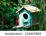 Old Blue Bird House