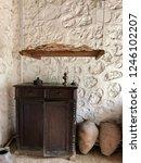 storage space for lavash bread... | Shutterstock . vector #1246102207