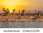 River Nile Luxor Egypt ...