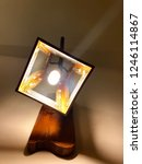 indoor lantern at the wall... | Shutterstock . vector #1246114867