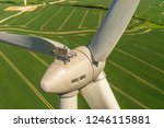 aerial view and closeup of a... | Shutterstock . vector #1246115881