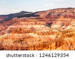 sunset point bryce canyon... | Shutterstock . vector #1246129354